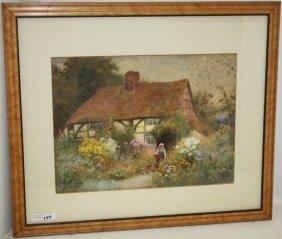 Claude Strachan (1865-1938, British) Watercolor