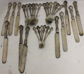29 Pcs Of Sterling Silver Flatware, Marked R.w.s.