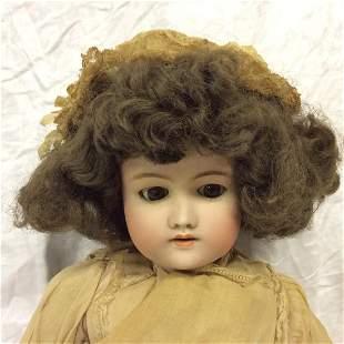 Simon & Halbig German Bisque Head Doll