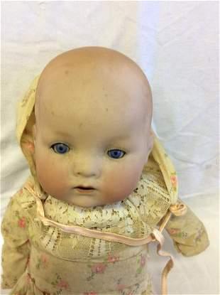 Armand Marseille German Bisque Head Doll