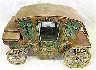 Miniature French Doll Stage Coach