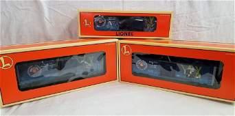 Group Of Three Lionel Century Club Ltd Ed Boxcars