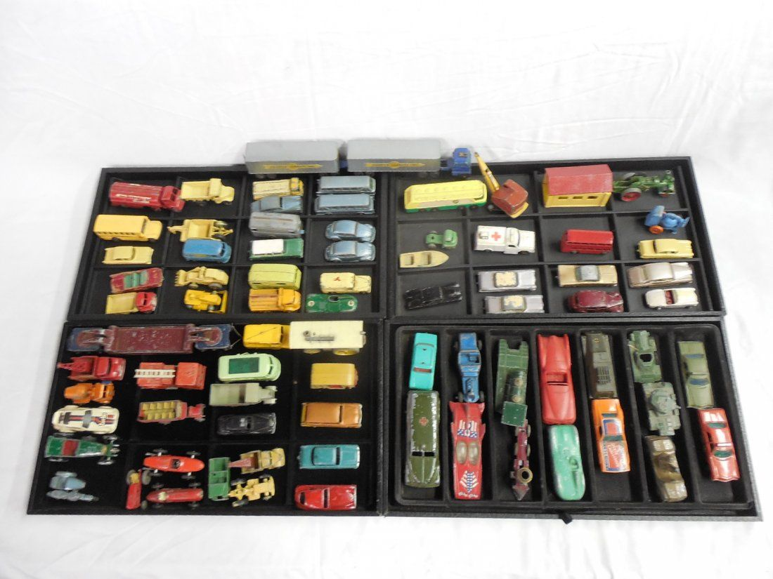 75+ Diecast Toy Cars Trucks Buses Military Lesney etc