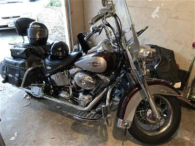 2007 Harley Davidson Heritage Softail Classic FLSTCI