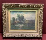 Charles Phelan Oil Painting Pastoral Sheep