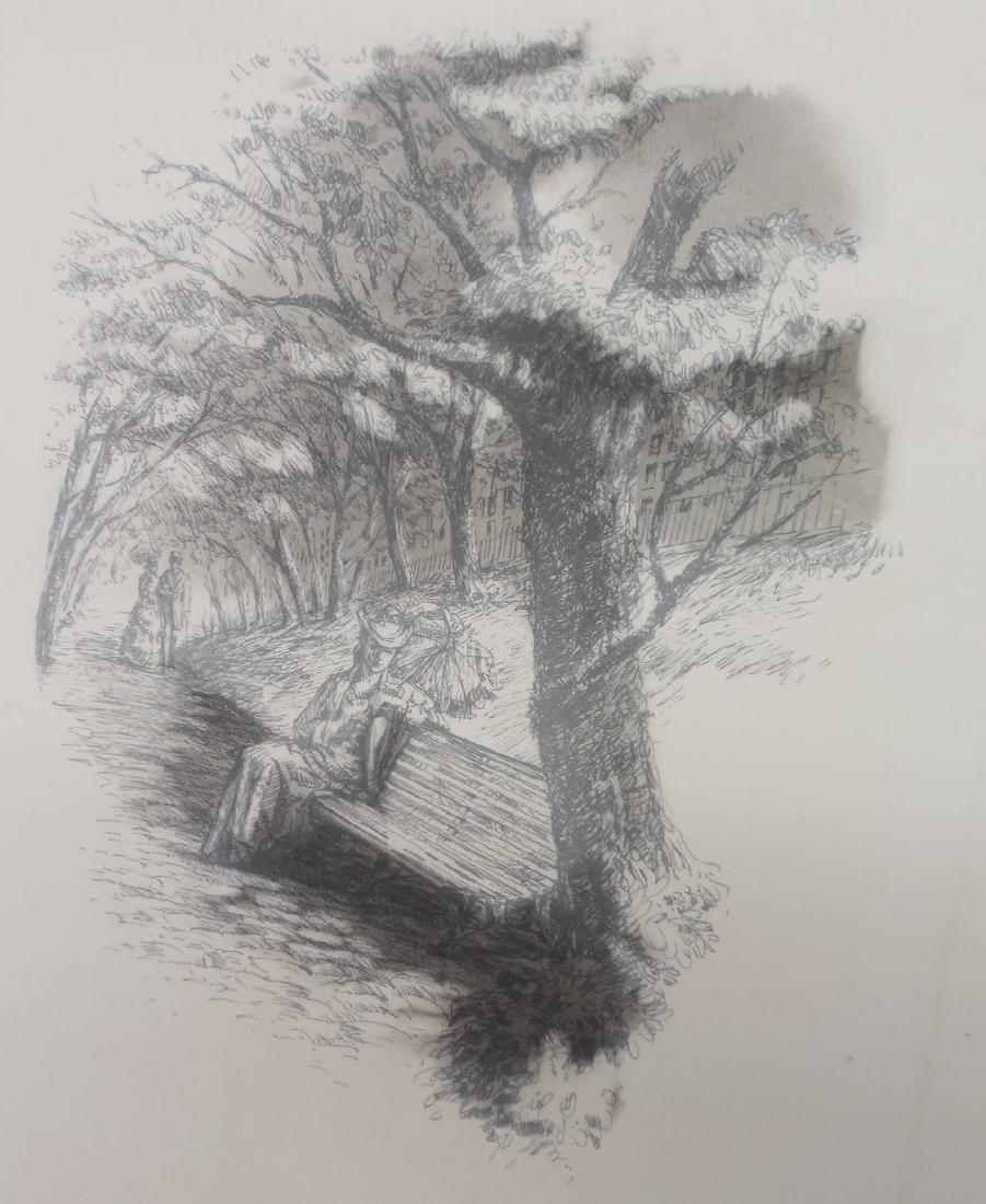 14 Barnett Plotkin Original Drawings Illustrations Age - 7