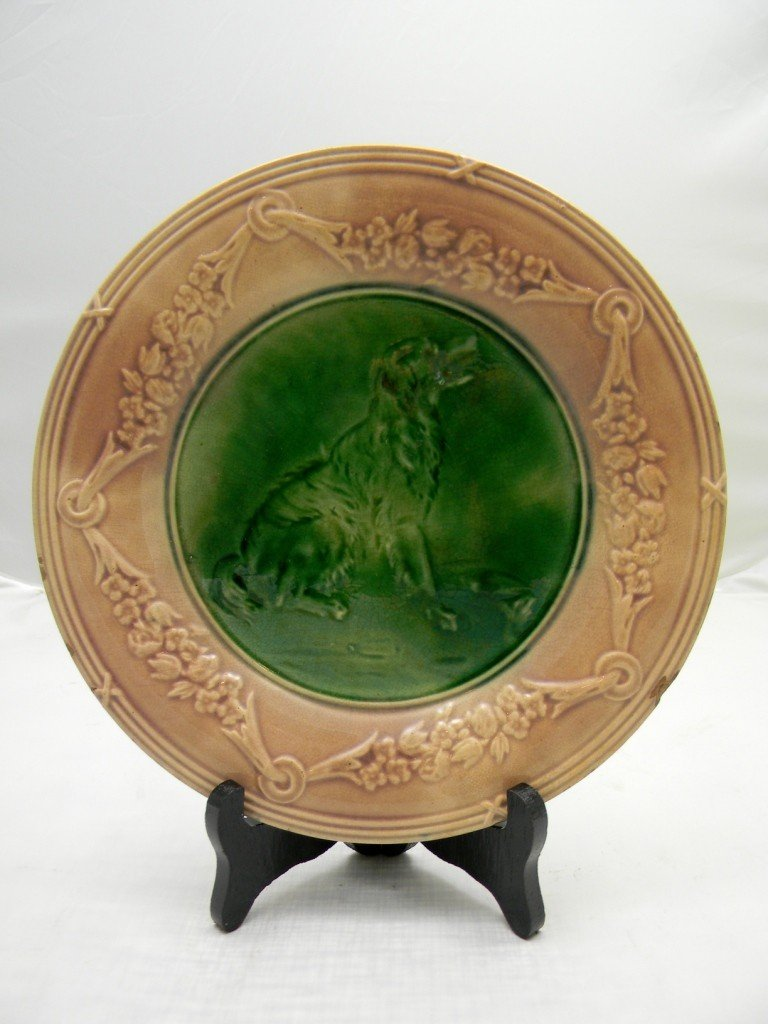 "5: Etruscan Classical Series Dog Plate 9"". Made by Grif"