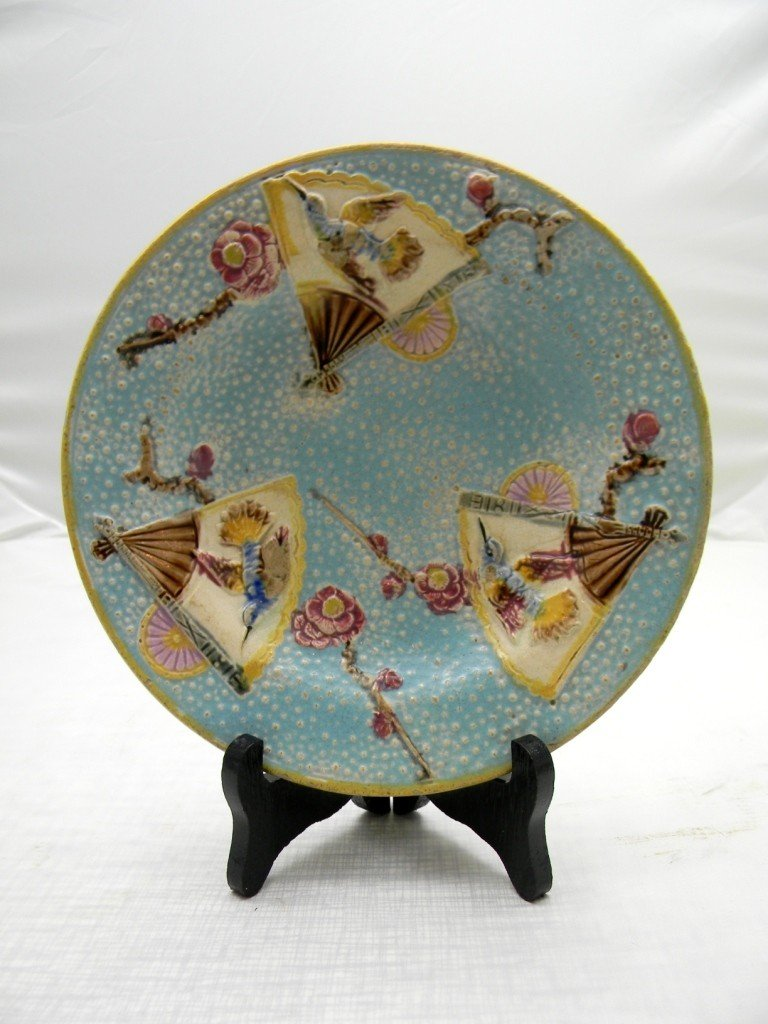 "15: George Jones Fielding Bird Plate 8""."