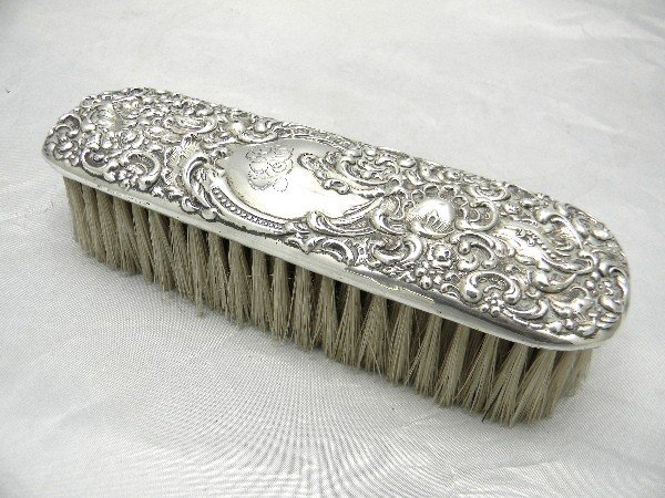 "501: 7"" Unger Brothers Sterling Handled Art Nouveau Gro"