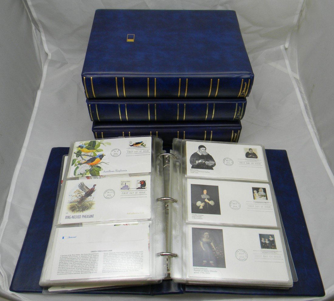 4: 800+ first day covers 1996 - 2000 in four large plus