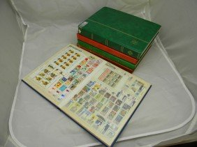1000's Of Unused Worldwide Stamps In 5 Packed Stock