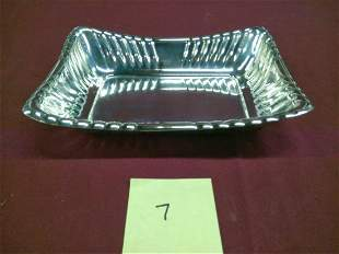 Reed And Barton Oblong Sterling Silver Serving Dish