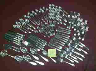 102 Pcs Reed & Barton Sterling Silver flatware