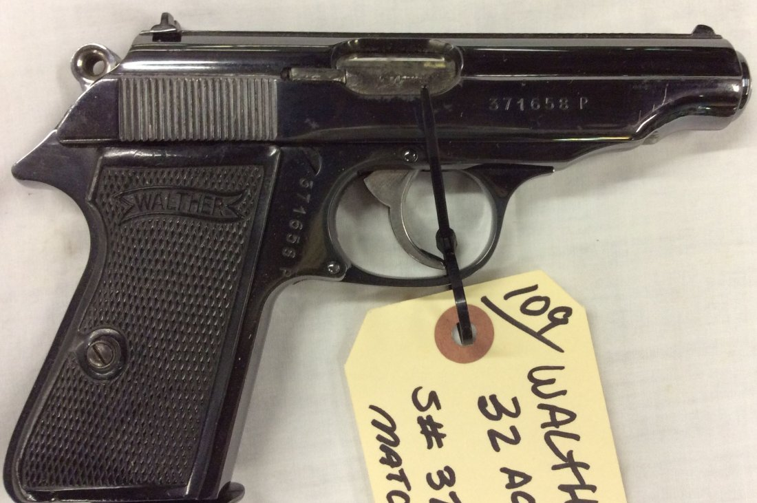 Walther PP 32 Auto NAZI Proofs