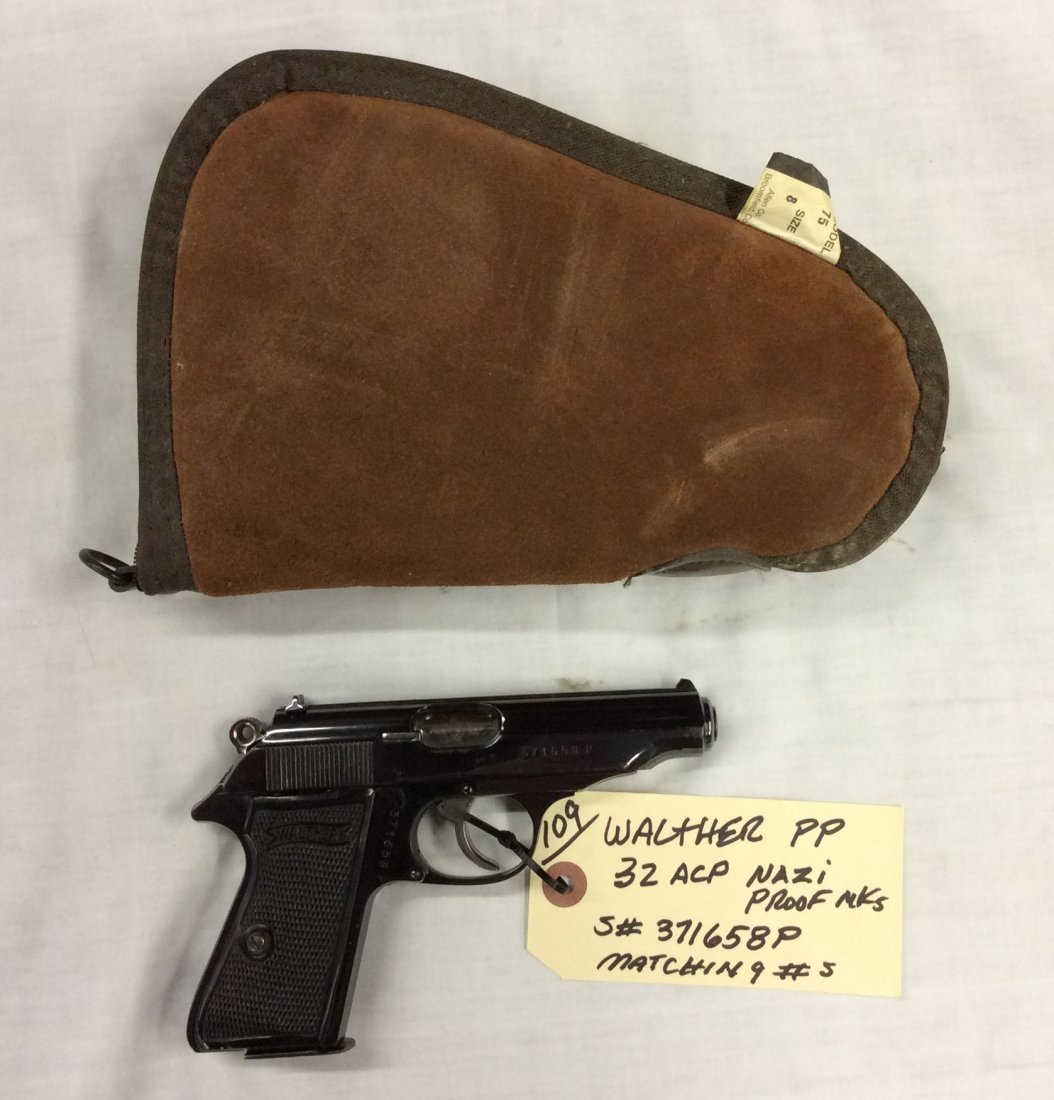Walther PP 32 Auto NAZI Proofs - 2