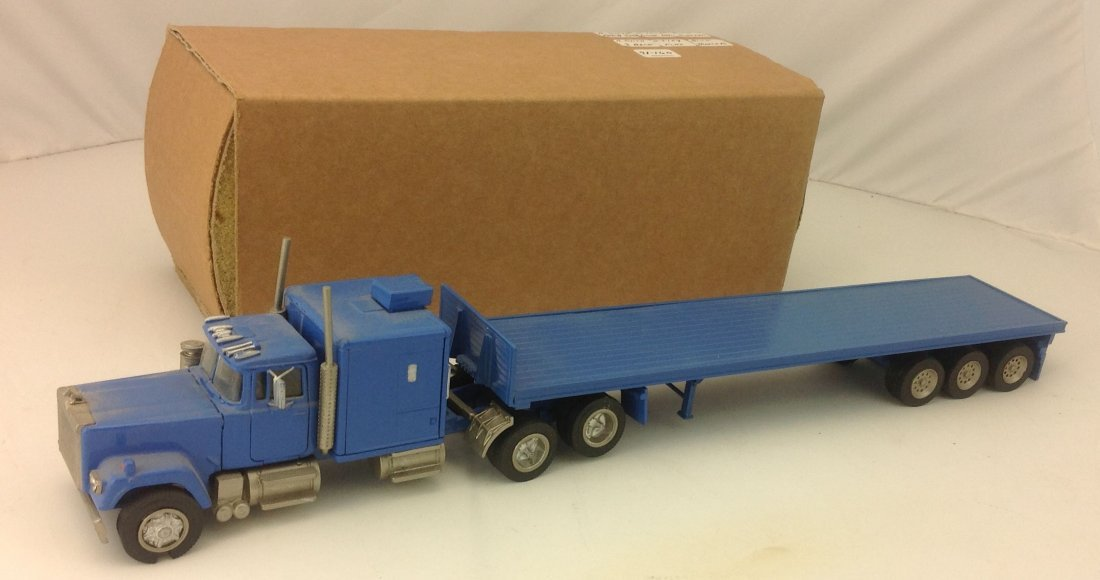 A Smith ASAM Mack Tractor Trailer Diecast Model 1:48