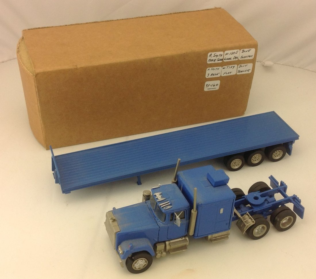 A Smith ASAM Mack Tractor Trailer Diecast Model 1:48 - 3