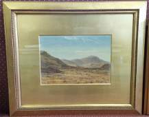 Albert Hartland Watercolor Rural Landscape