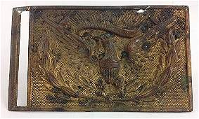 US Army Union Regulation Model 1851 Sword Belt Plate