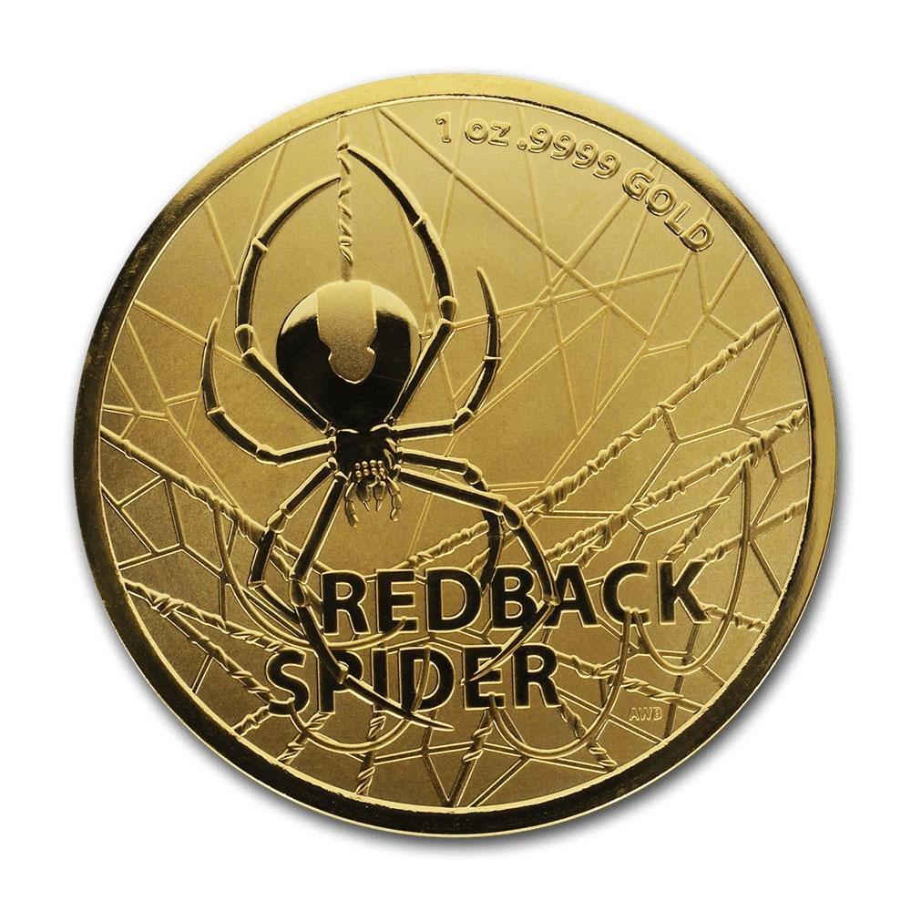 2020 Australia 1 oz Gold $100 Redback Spider BU (w/COA)