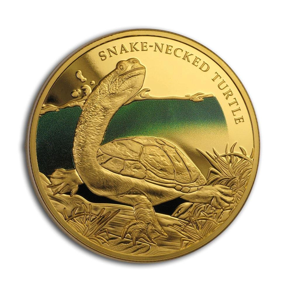 2020 Niue 1 oz Proof Gold Remarkable Reptiles
