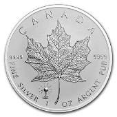 2018 Canada 1 oz Silver Maple Leaf Edison Light Bulb
