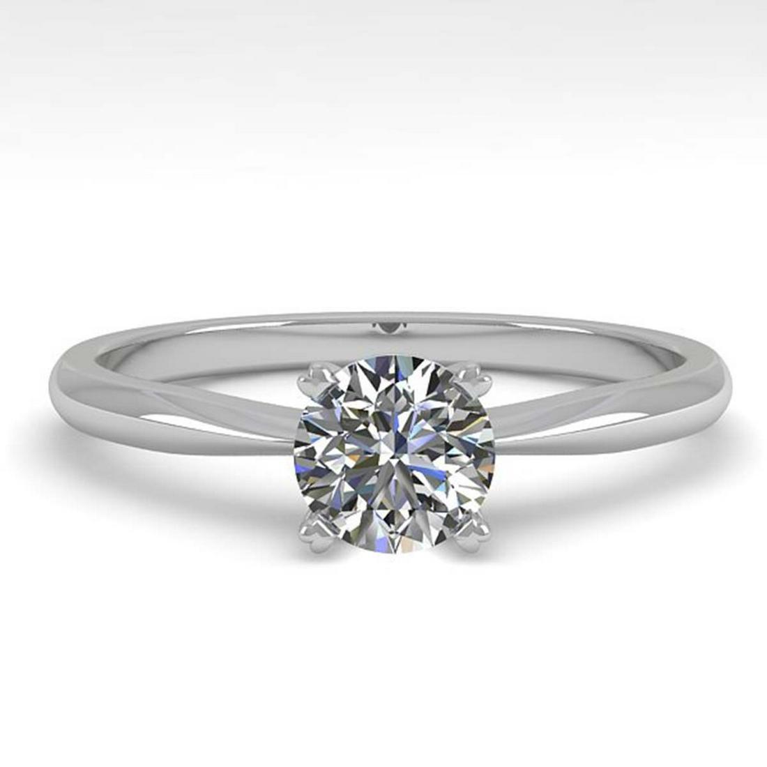 0.50 ctw VS/SI Diamond Ring 14K White Gold