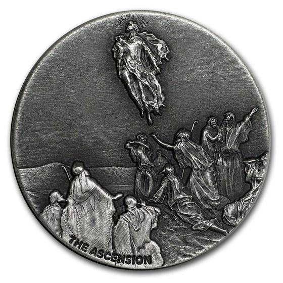 2018 2 oz Silver Coin - Biblical Series (Ascension of