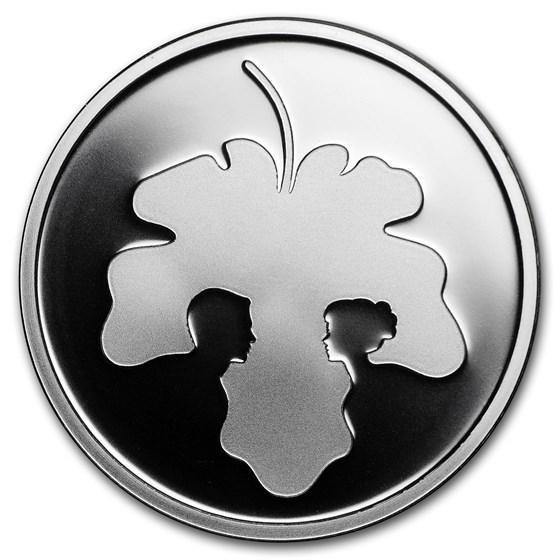1987 ISRAEL HANUKKA COIN-HANUKKIYA FROM ENGLAND PROOF COIN 28.8gr SILVER CASE