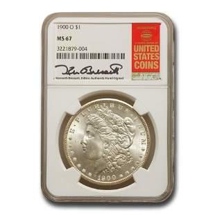 1900-O Morgan Dollar MS-67 NGC