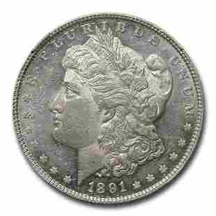 1891 Morgan Dollar MS-60 PL NGC