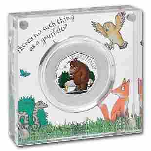 2019 Great Britain 50 pence Silver The Gruffalo & Mouse