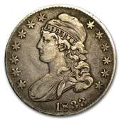 1833 Capped Bust Half Dollar XF