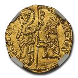 Venetian Republic AV Ducat Tomaso Mocenigo (1414-23 AD)