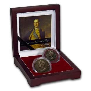 Great Britain 2-Coin Set George II: Washington's