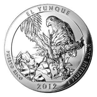 2012 5 oz Silver ATB El Yunque National Park, Puerto
