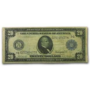 1914 (G-Chicago) $20 FRN Fine (Fr#990)