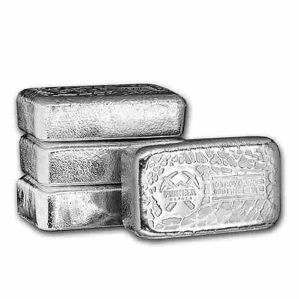 10 oz Silver Bar - Pioneer Metals