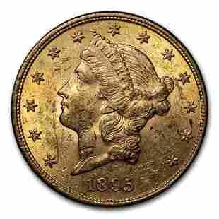 1895 $20 Liberty Gold Double Eagle AU