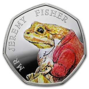 2017 Great Britain Silver 50p Beatrix Potter Prf