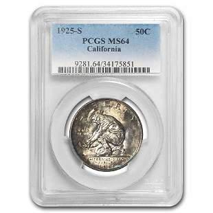 1925-S California Diamond Jubilee Half Dollar Commem