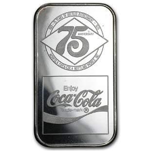 1 oz Silver Bar - Coca Cola (Norfolk, VA)