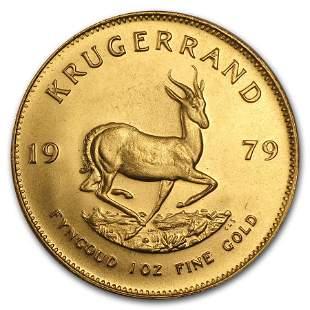 1979 South Africa 1 oz Gold Krugerrand BU