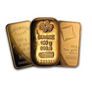 100 gram Gold Bar - Secondary Market