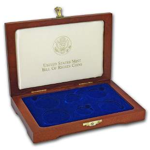 OGP Box & COA - 1993 6-Coin Bill of Rights