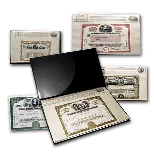 America's Great Corporations Collection Stock