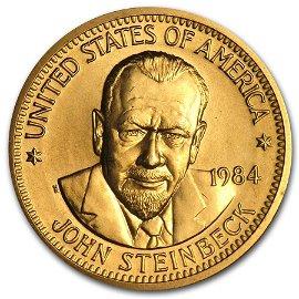 U.S. Mint 1/2 oz Gold Commemorative Arts Medal John