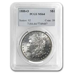 1888-O Morgan Dollar MS-64 PCGS