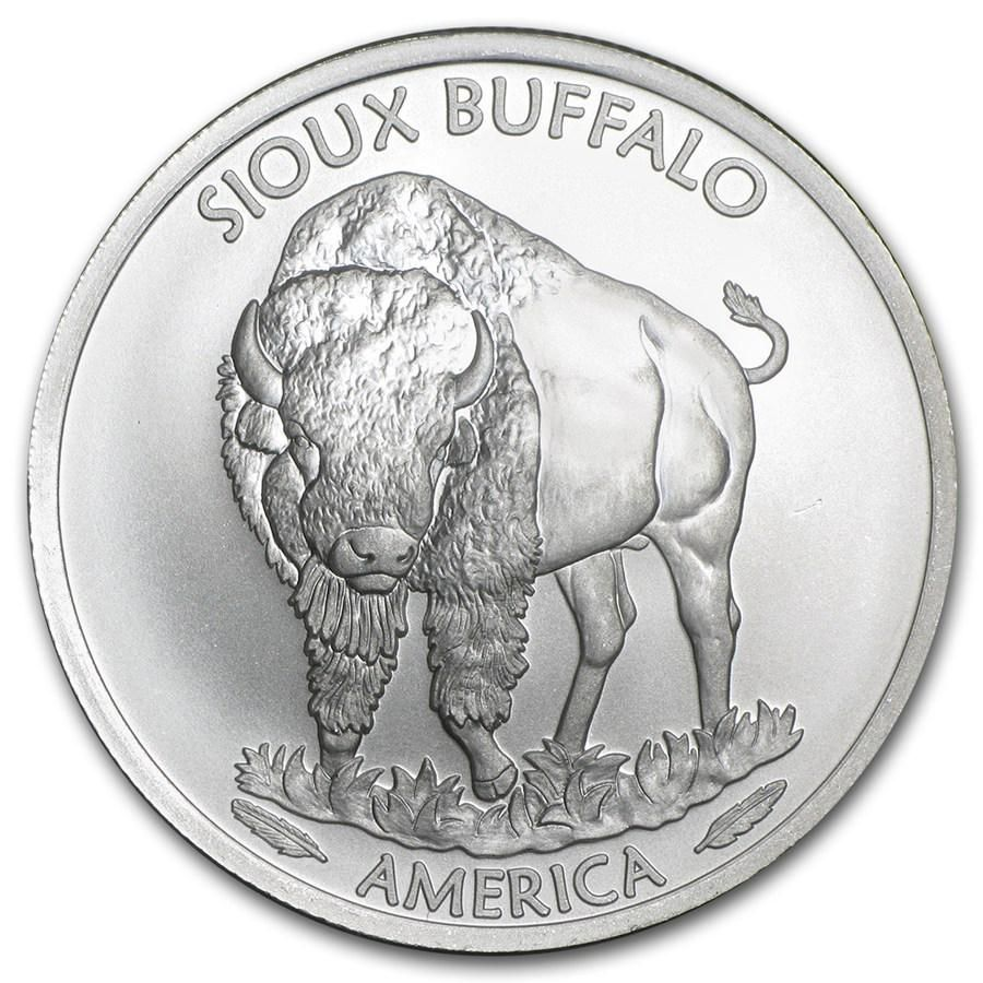 2015 1 oz Silver Native American Mint $1 Sioux Indian
