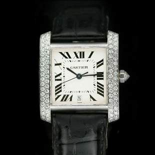Pre-Owned Cartier Tank Francaise 2366
